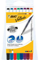 Bic DryWipe Makers 1721 Assorted 8 Pack