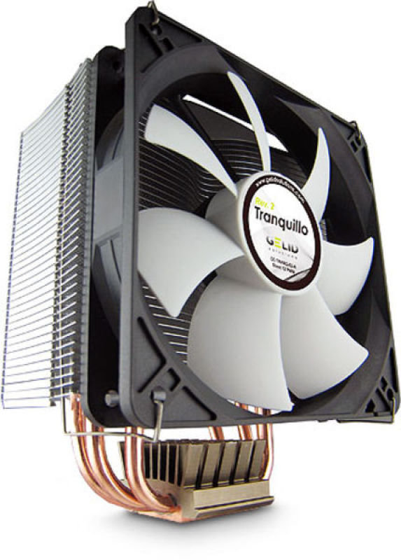 Image of Gelid Solutions Tranquillo Rev.3 Quiet CPU Cooler with PWM Fan