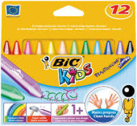 Bic Kids Plastidecor Crayons Assorted