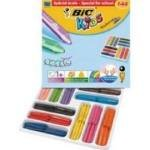 Bic Kids Plastidecor Triangle Crayons Assorted 144 Pack