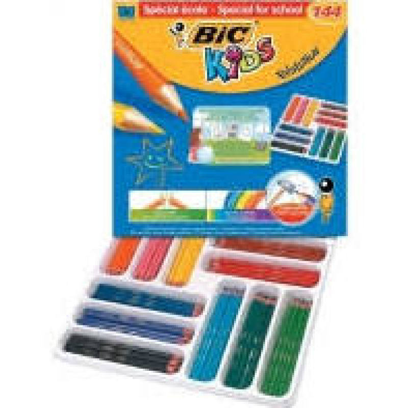 Bic Evolution Colouring Pencils Pack 144