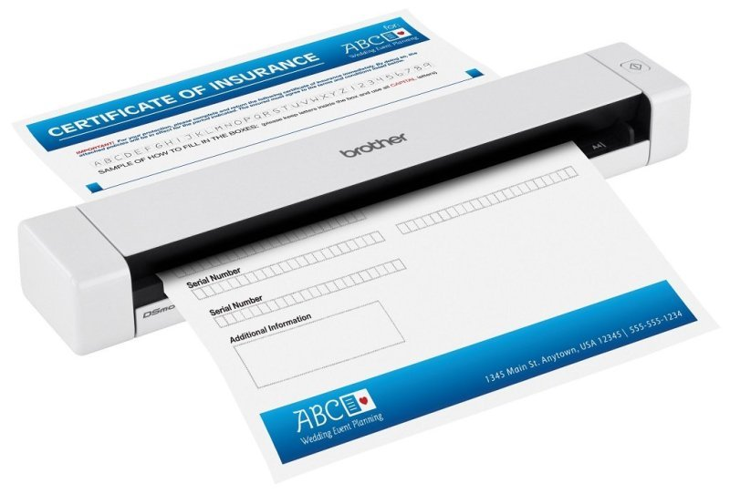 Brother DS-620 A4 Portable Document Scanner