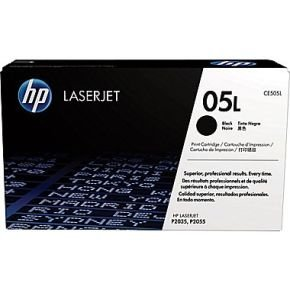 *HP 05L Economy Black Toner Cartridge - CE505L