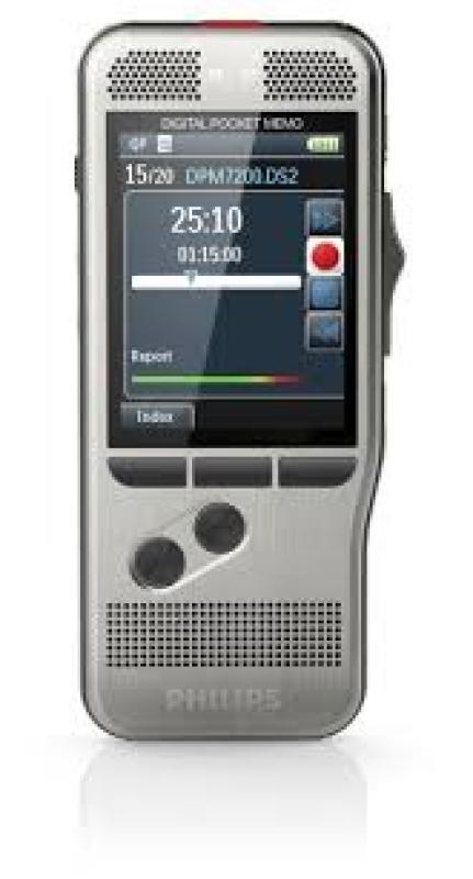 Philips DPM 7200 Pocket Memo Digital Voice Recorder