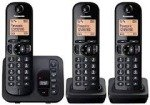 Panasonic KX-TGC223EB Trio Dect Cordless Phone Black