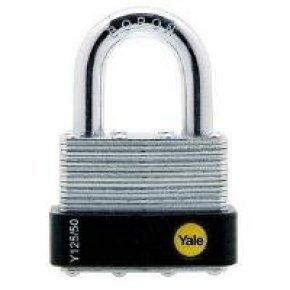Yale Laminated Open Shackle Padlock 50mm