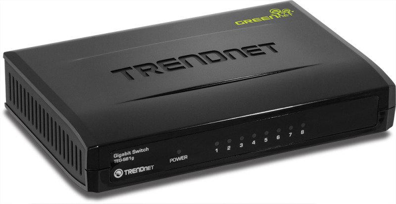 Trendnet TEG-S81G - 8-Port Gigabit GREENnet Switch