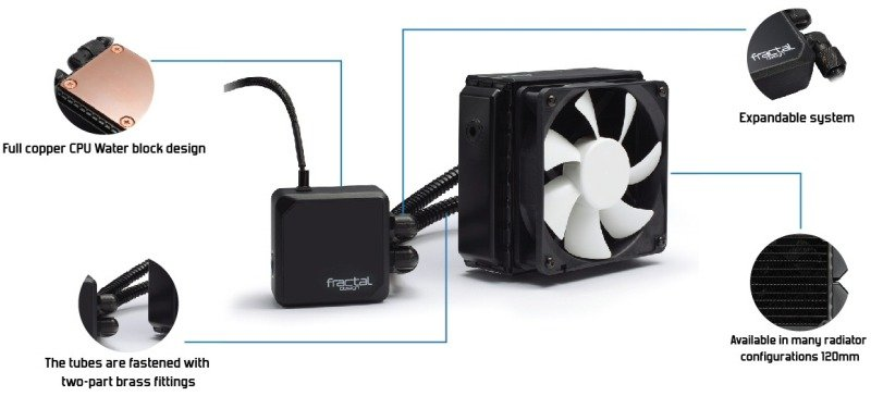 Fractal Kelvin Design T12 Hydro Performance Cooler