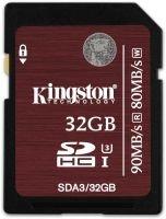 Kingston 32GB SDHC UHS-I Speed Class 3 Flash Card