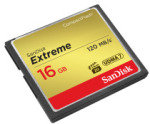 SanDisk Extreme 16GB CompactFlash Card x 2