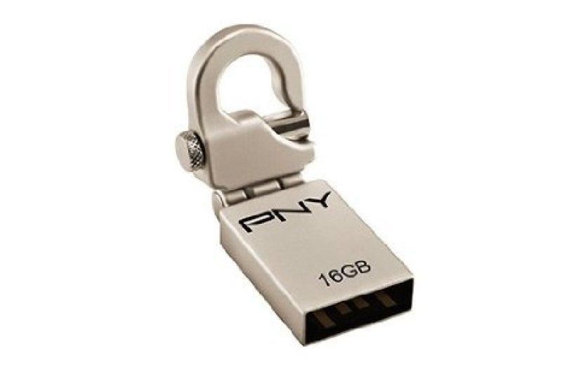 PNY Micro Hook Attach 16GB USB Drive - P-FDI16G/APPHK-GE