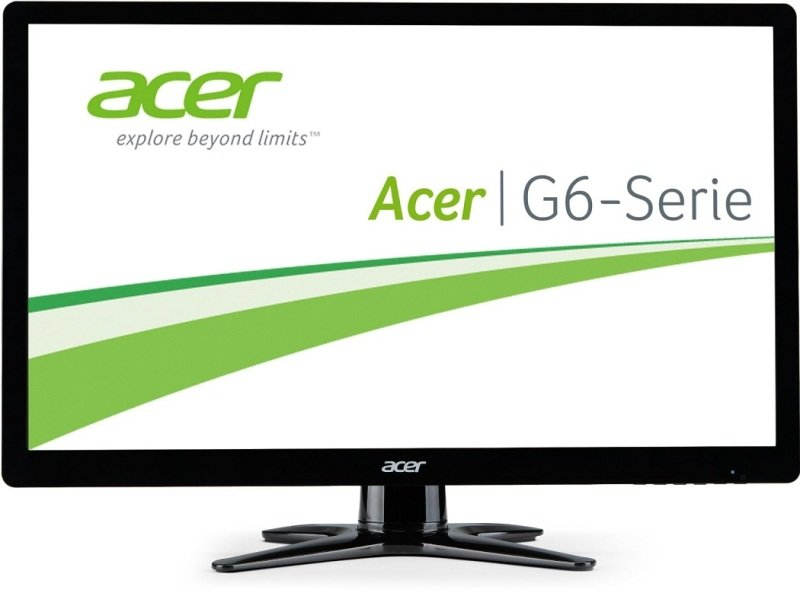G246HYLbid/ 60cm (23.8) Wide 6ms 100M:1 ACM 250nits IPS LED HDMI DVI (w/HDCP) EURO/UK EMEA MPRII Black (no dvi cable) Acer EcoDisplay