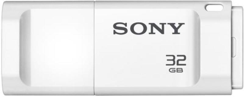 32GB Microvault X Series USB Flash Drive - White