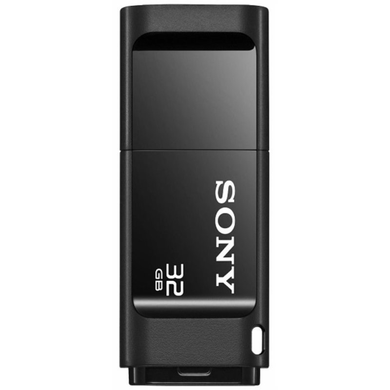 32GB Microvault X Series USB Flash Drive - Black