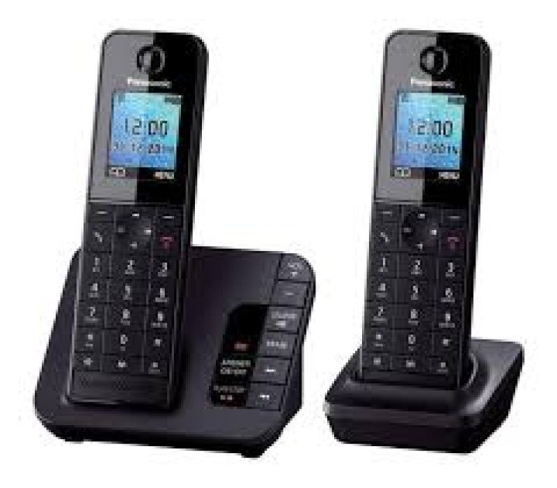 Panasonic KXTGH222eb Dect Phone  Black