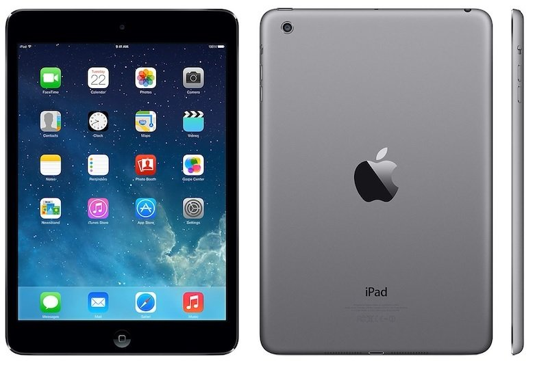 "Image of Apple iPad Air 64GB Cellular, A7 CPU Chip, 32GB Flash, 9.7"" Retina Display, Wifi, Cellular, Bluetooth, 2 Cameras, Apple iOS 9 - Space Grey"