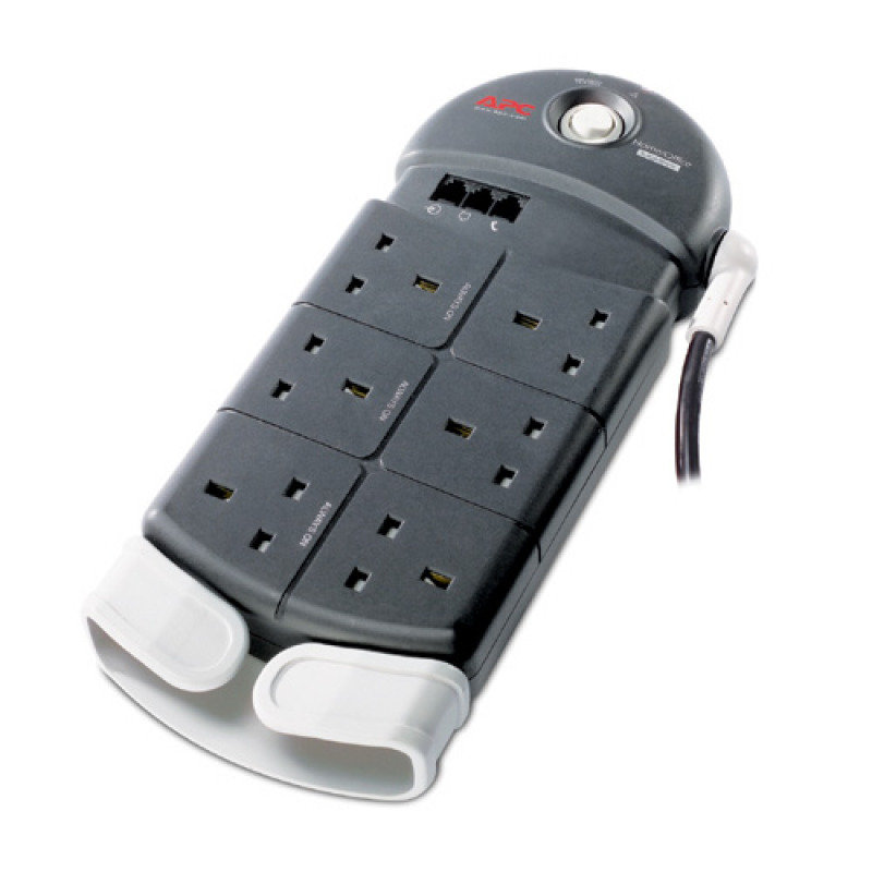 APC Home / Office SurgeArrest 6 outlets with Phone & Coax Protection 230V UK