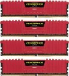 Corsair Vengeance Lpx Red 32gb Kit (4x8gb) Ddr4 2666mhz Standard Dimm