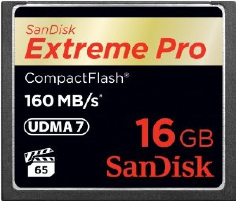 Sandisk Extreme Pro Compact Flash 16GB