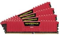 Corsair Vengeance LPX Red 16GB Kit (4x4gb) DDR4 2400mhz Standard Dimm