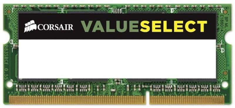 Corsair Value Select 4GB 1333MHz DDR3L SODIMM Memory