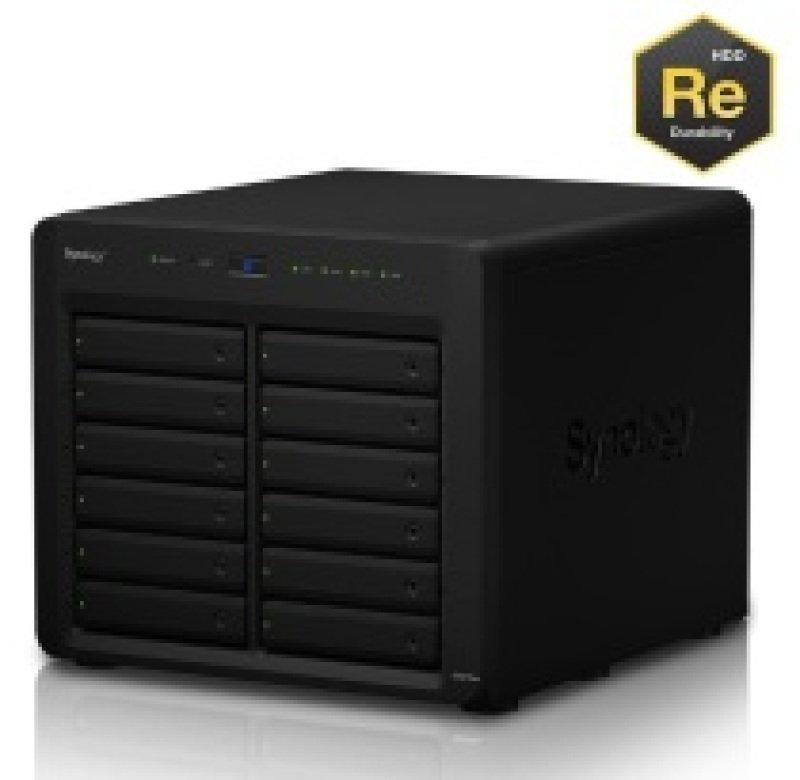 Synology DS3615xs 24TB (12 x 2TB WD RE) 12 Bay Desktop NAS