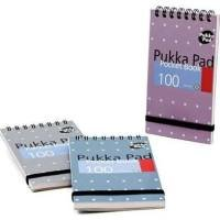 Pukka A7 Metallic Pocket Notebook 100 Pages