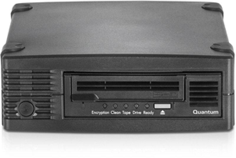 Quantum TC-L62BN-AR-C LTO-6 HH 6Gb/s SAS Tabletop Tape Drive
