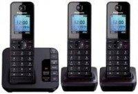 Panasonic KX-TGH223EB Trio Dect Phone Black