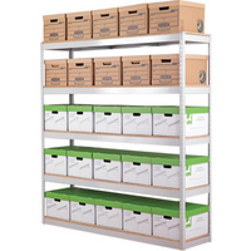 Zamba Stock/Archive Shelving W1500
