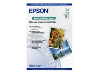 Epson Archival A3 192gsm White Matte Photo Paper - 50 sheets