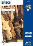 Epson HeavyWeight A4 167 gsm White Matte Photo Paper - 50 Sheets