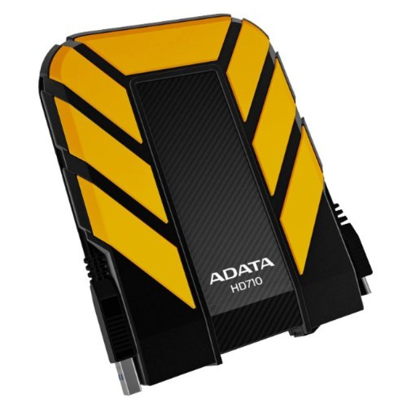 Image of Adata 1TB DashDrive Durable HD710 Portable Hard Drive (Yellow)