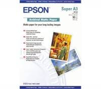 Epson Archival Super A3 192gsm White Matte Photo Paper - 50 Sheets