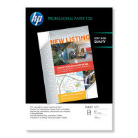 HP Professional 120 A3 120gsm Bright White Matte Inkjet Paper - 100 Sheets