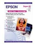 Epson Heavyweight A3+ 167gsm Bright White Matte Photo Paper - 50 Sheets