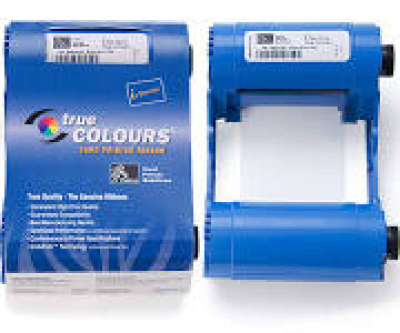 Zebra Ribbon Mono Black 1000 Image Ec - W/cleaning Roller For P1xxi
