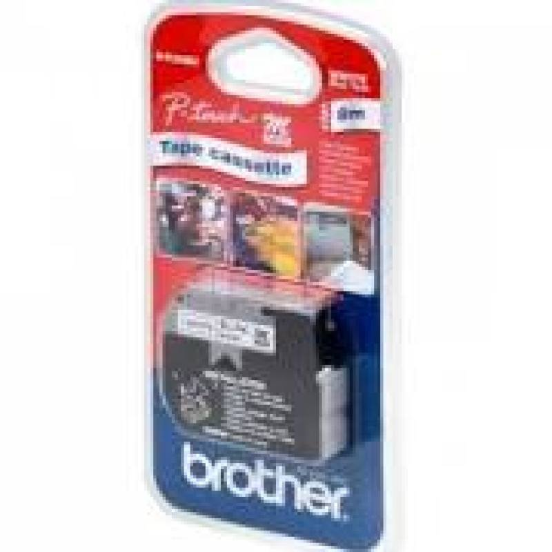 Brother Blue/White 9mm Tape