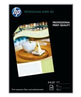 *HP Professional A4 180gsm Matt Inkjet Brochure and Flyer Paper - 100 Sheets