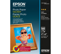 "Epson 4x6"" 200gsm Glossy Photo Paper -  500 sheet"