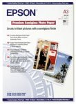 *Epson Premium A3 251gsm Semigloss Photo Paper - 20 Sheets