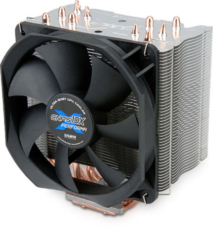ZALMAN CNPS10X Performa Socket LGA1366, LGA1156, LGA775, AM3, AM2+, AM2, 754, 939, 940 Compatible Ultra-Quiet CPU Cooler