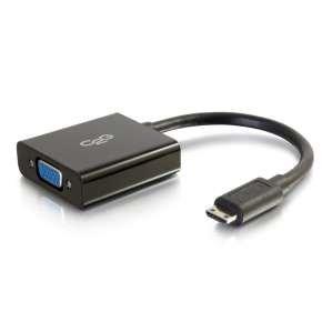 C2G Mini HDMI to VGA Dongle w/Power