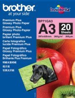 Brother Innobella Premium Plus A3 260gsm Glossy Photo Paper - 20 Sheets