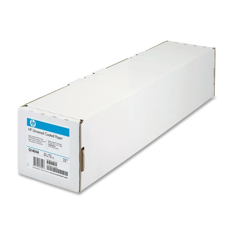 HP Universal 95gsm Matte Coated Paper Roll - 610mm x 45.7m