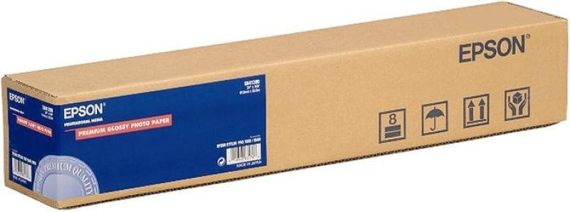 Epson Premium 165gsm Glossy Resin Coated Photo Paper - 610mm x 30.5m