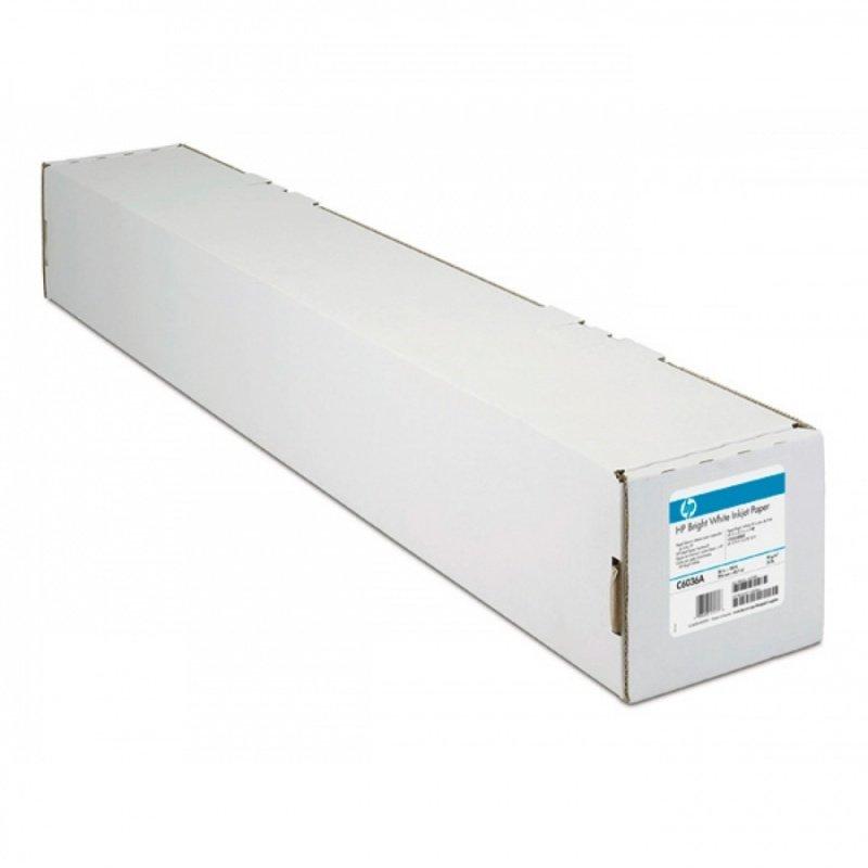 HP Bright White 90gsm FSC Inkjet Matte Paper Roll - 610mm x 45.7m