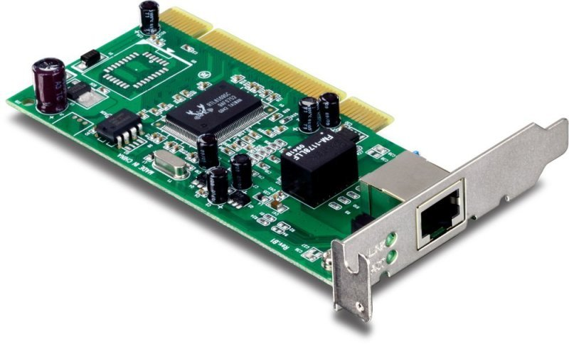TRENDnet TEG-PCITXRL Low Profile Gigabit PCI Adapter