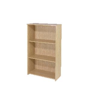 Ff Jemini 1200mm Medium Bookcase Maple