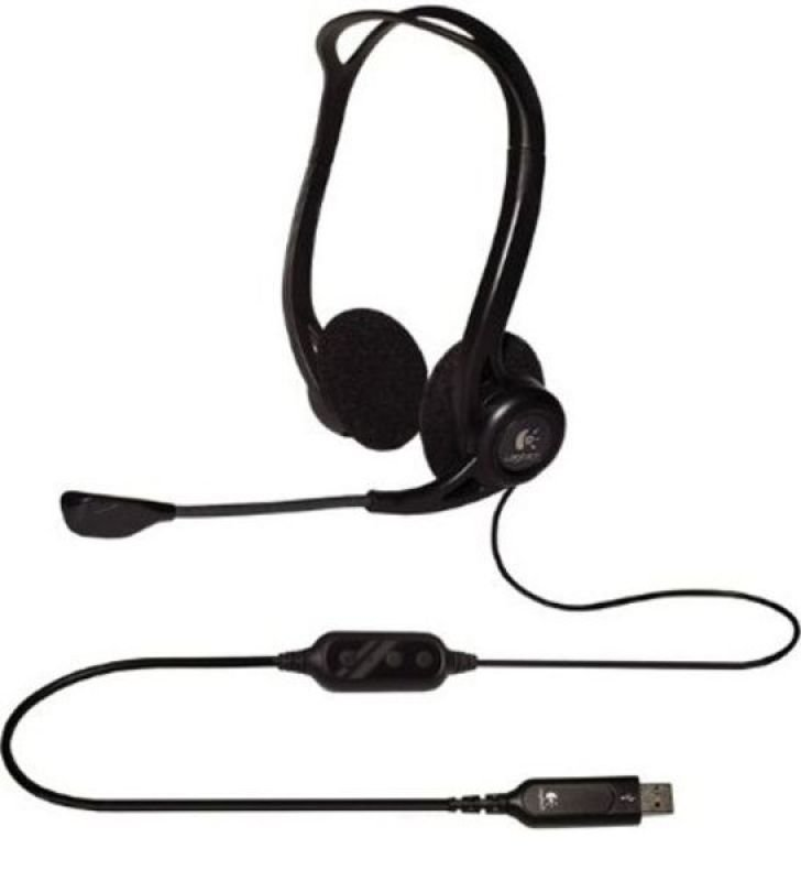 Image of Logitech PC 960 Stereo Headset USB